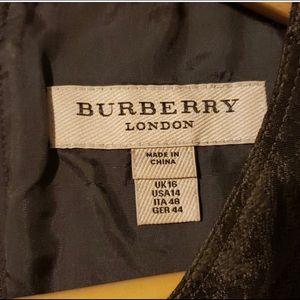 Olive Green Burberry Dress